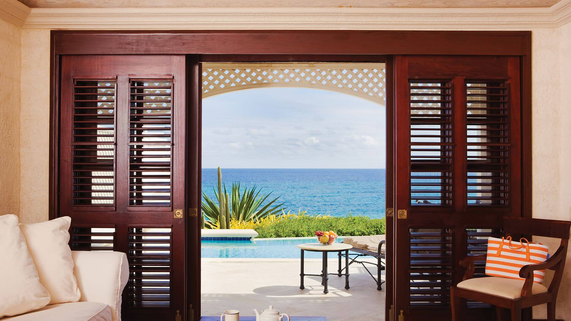 Ocean View with 28 ft. Pool - View