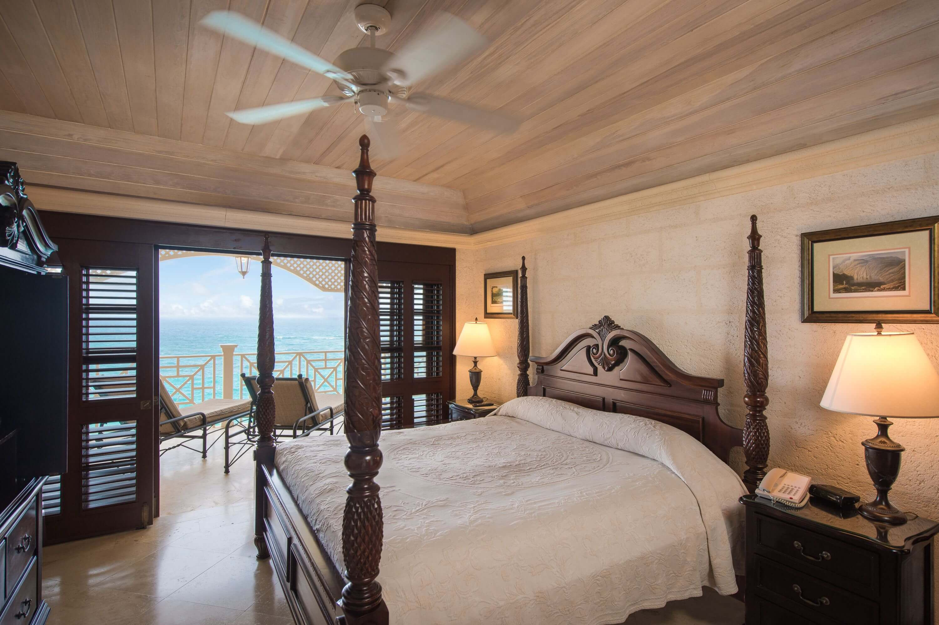 On Suite Bedroom Accommodation Facilities Suite Rooms Barbados The Crane Resort
